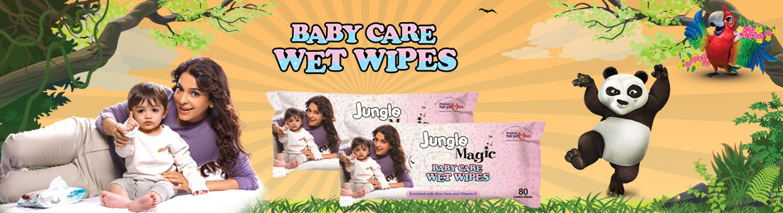 Baby Care,baby diapers online,wet wipes box,jungle magic